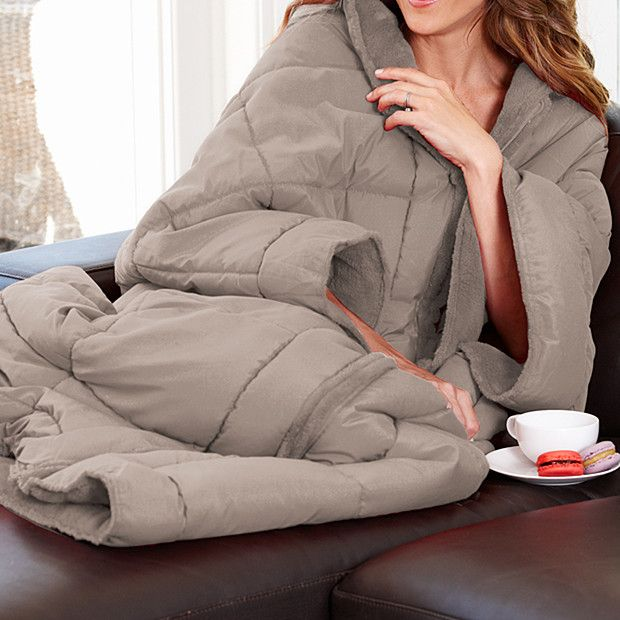 Quilted Gown Blanket