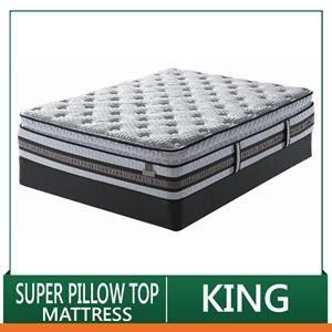 King I Series Approval Super Pillow Top Mattress Set