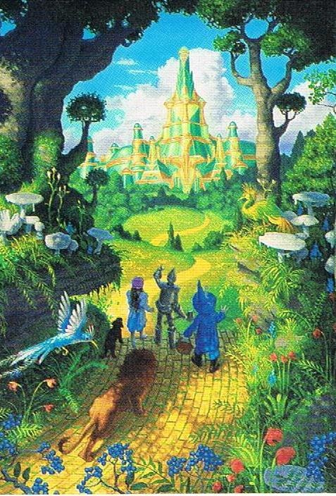 The Yellow Brick Road. This was my favorite movie as a child. I always looked forward to it coming on TV each year.