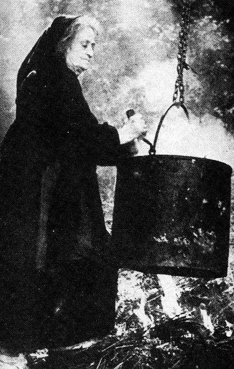 """""""Amanita preparing her famous mushroom stew."""""""