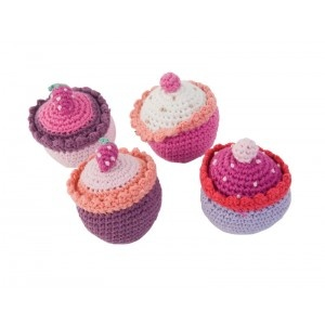 hmmm crochet cup cakes!