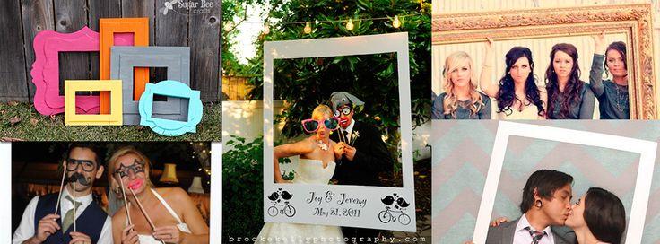 Desde hace tiempo se pusieron de moda los marcos gigantes porque resulta muydivertido estar pasando el marcopara tomarse fotos en la boda, sobre todo si le agregas accesorios simpáticos. Imagen de Pinterest Si deseas tener uno de estos marcos amenizando tu fiesta, aquí te dejo la información de para que puedas hacerlo, aunquete recomiendoque …