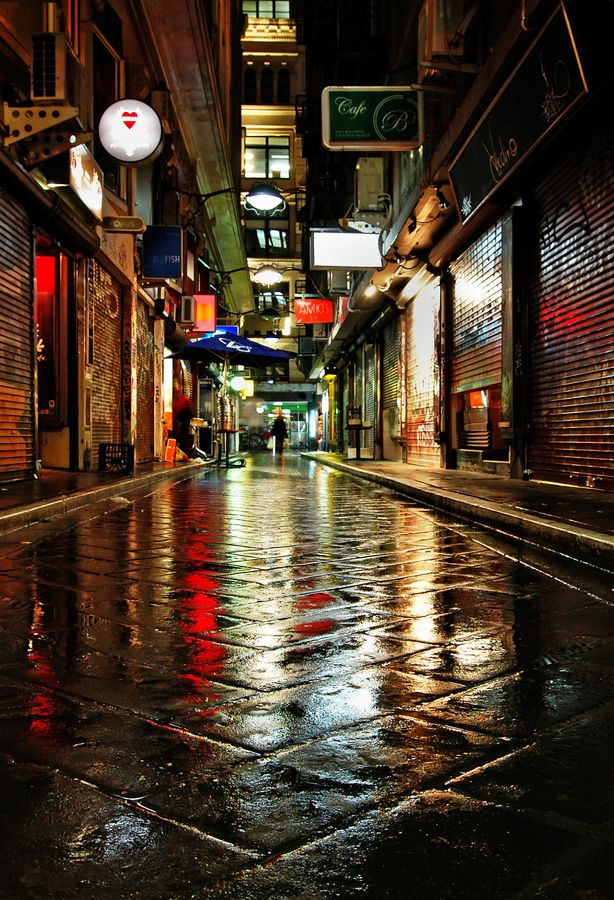 After the rain - Melbourne, Australia i would love to see this.. Joan Mc Roy.
