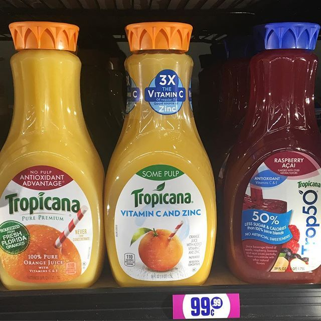 Tropicana Juice (Pico) @99centsonly #99centsonlystore #99centsstore #99centstore #99treasure #99obsessed #99er #99community #99centsonly #99cents #99cent #99streetteam #dontsleeponthe99 #99centsstreet #99centsstreetteam #99crew #lucky99er #dothe99