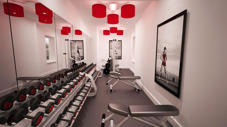 The fabulous gym at #ReynoldsRetreat #TheReynoldsGroup