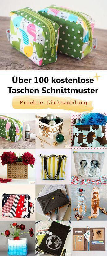 Más de 100 patrones libres para bolsas.