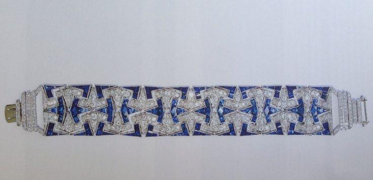 Bracelet by Alfredo Ravasco. 1925