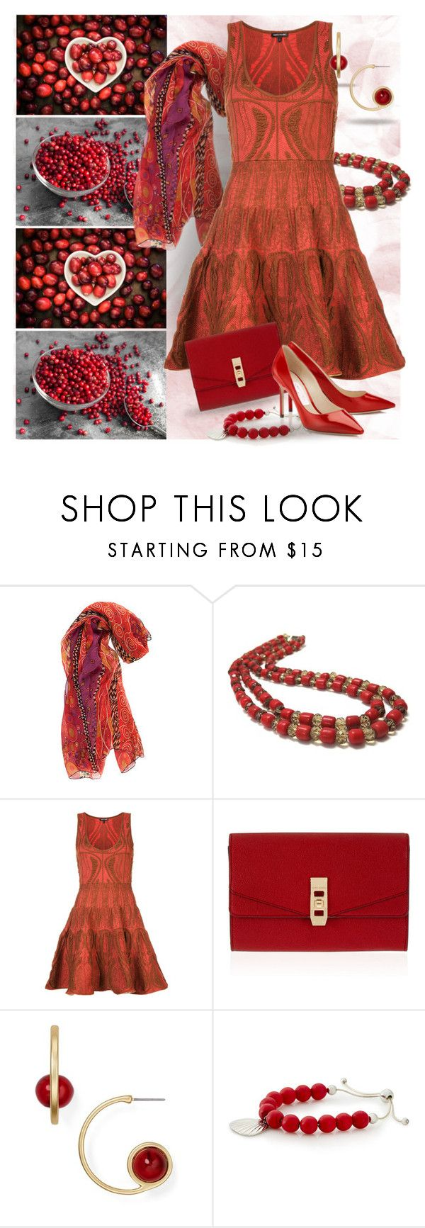 """Cranberry Style"" by bb60477 ❤ liked on Polyvore featuring Sophie Theallet, Henri Bendel and Dylan Gray"