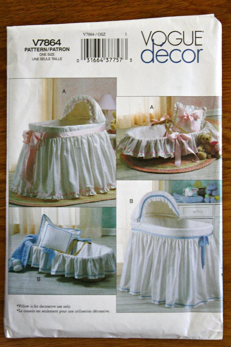 Bassinet Cover Patterns6