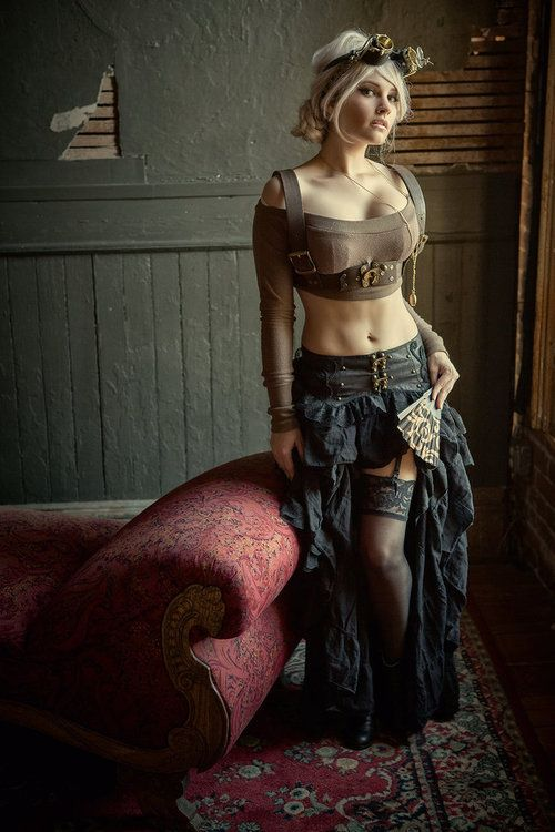 ML steampunktendencies: Daniel Lahaie Photography - Great outfit - #randallchambers http://www.randallchambers.com