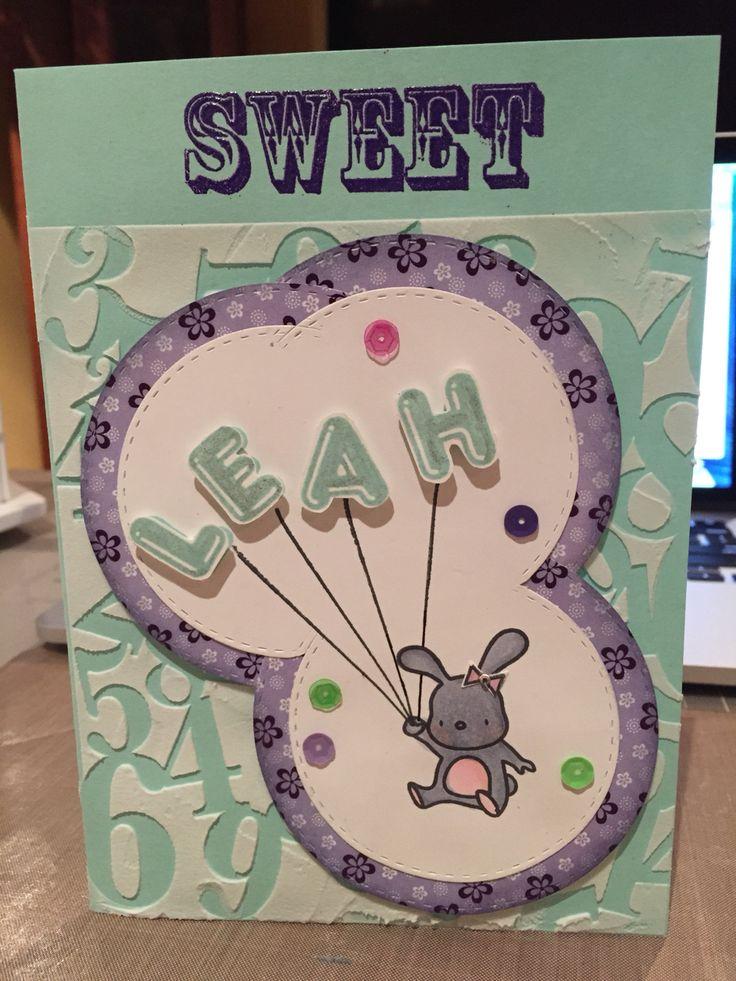 Birthday card for my goddaughter