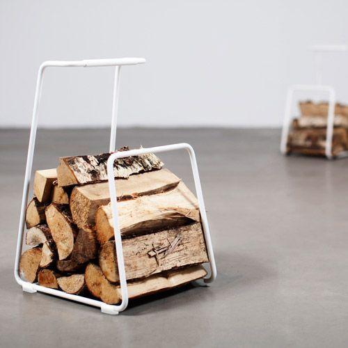 Röshults Log houtmand
