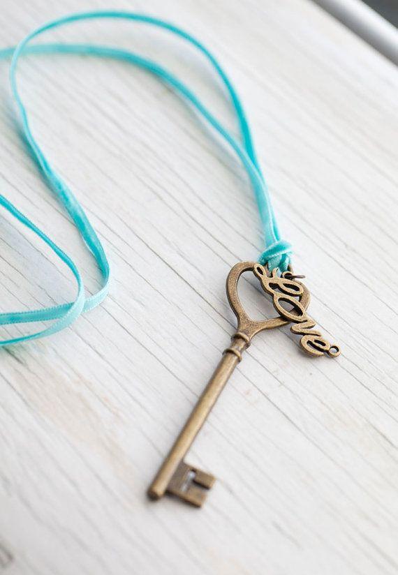 blauw; sleutel
