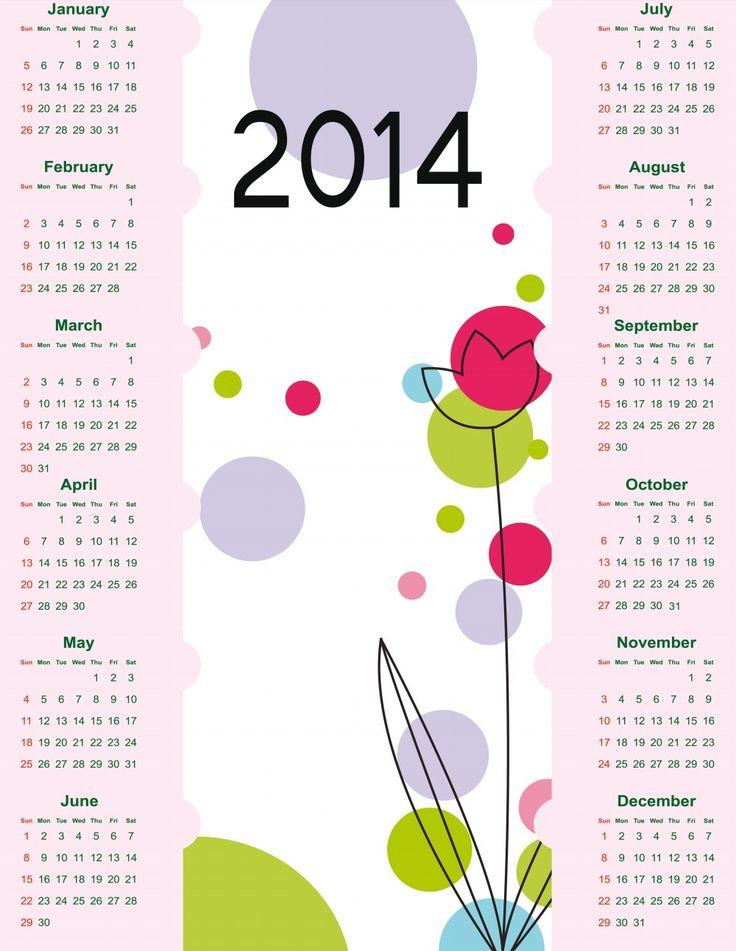 44 best Cool Calenders images on Pinterest | Calendar, Calendar ...