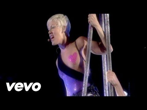 P!nk's official live video for 'Sober'. Click to listen to P!nk on Spotify: http://smarturl.it/PSpot?IQid=PinkSL As featured on Greatest Hits...So Far!!!. Cl...