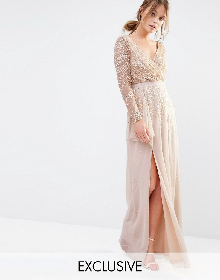 Image 1 of Frock and Frill Embellished Maxi Dress 1500kr