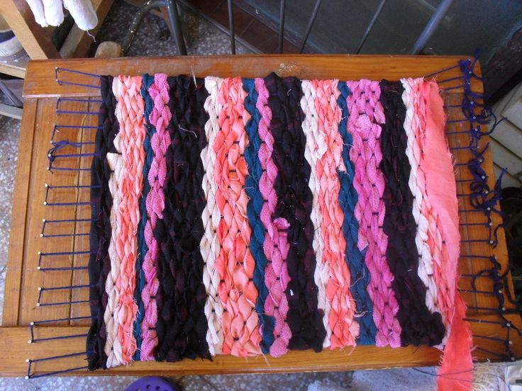 Exceptional Diy Loom Tutorial. Diy RugsWeaving ...