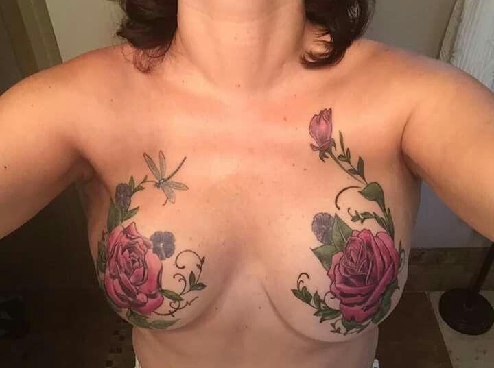25 b sta mastectomy tattoo id erna p pinterest for Breast cancer face tattoos walmart
