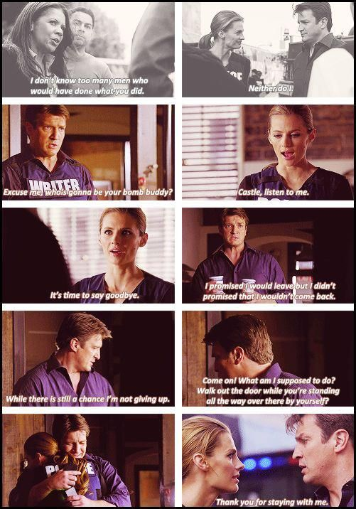 """Castle fulfilling his promise of """"Always"""" yet again in Still <3"""