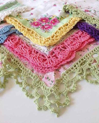 Lace Edgings Crochet Pattern