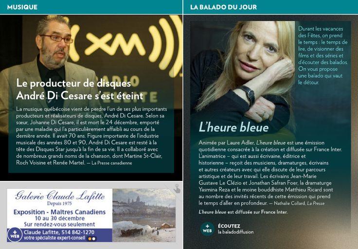 «L'heure bleue» - La Presse+