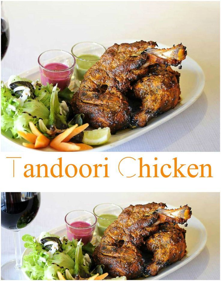 Homemade Easy Tandoori Chicken Recipe in Oven.  Find out how to make mouthwatering Homemade easy Tandoori chicken recipe in oven. Classic tandoori chicken from India is marinated in yogurt, lemon juice, and plenty of spices, then grilled or broiled. Tandoori chicken is traditionally cooked in a clay oven the chicken having been seasoned first.