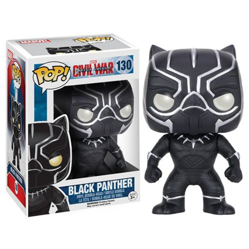 Captain America Civil War Black Panther Pop Vinyl Figure