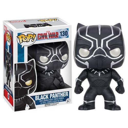 Captain America Civil War Black Panther Pop Vinyl Figure