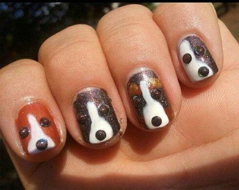 69 best doggy nail art images on pinterest nail designs love the doggie nails for sure prinsesfo Gallery
