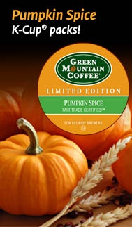 Pumpkin Spice K-Cup packs. FALL into the season. A delicious coffee enhanced by the creamy pumpkin spice flavors of autumn.