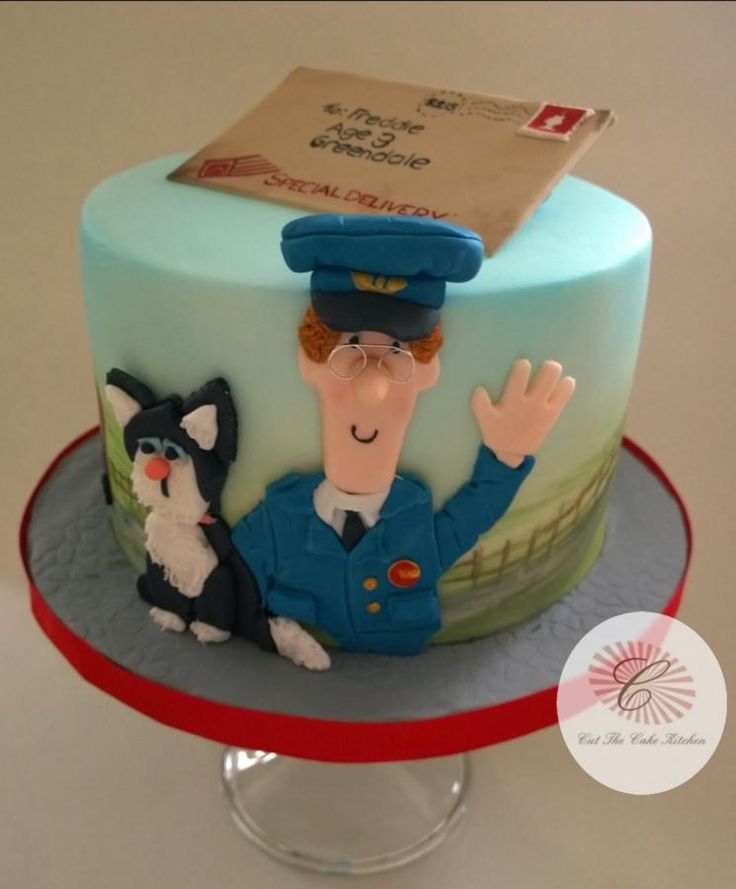 Postman Pat & Jess - Cake by Cut The Cake Kitchen
