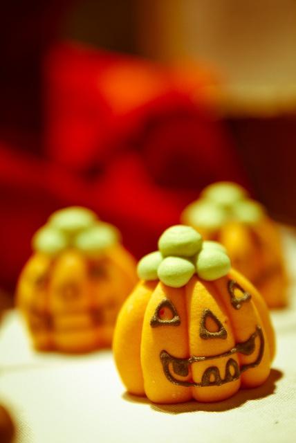 marzipan pumpkin - chocolate fair stockholm