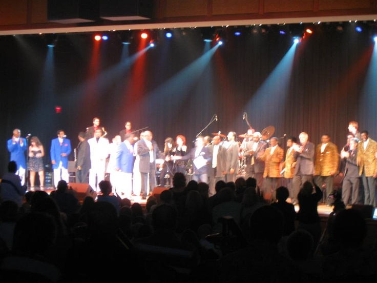 The Ultimate Doo Wop show Little River Casino..The Spaniels, The Edsels, Dodie Stevens, The ElDorados,Charlie Thomas and The Drifters,Rama Lama Big Band
