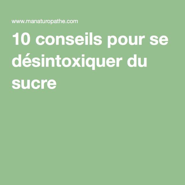 10 conseils pour se désintoxiquer du sucre -