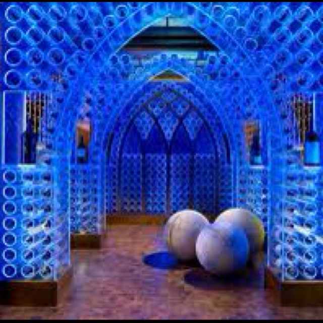 Fabulous wine cellar