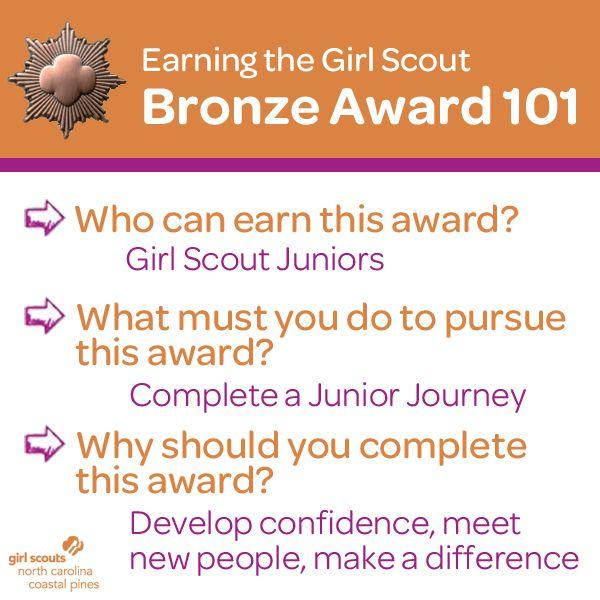 37 best girl scout bronze award ideas images on pinterest