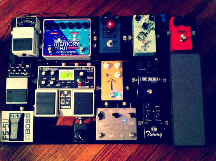 Chris Quilala Pedalboard