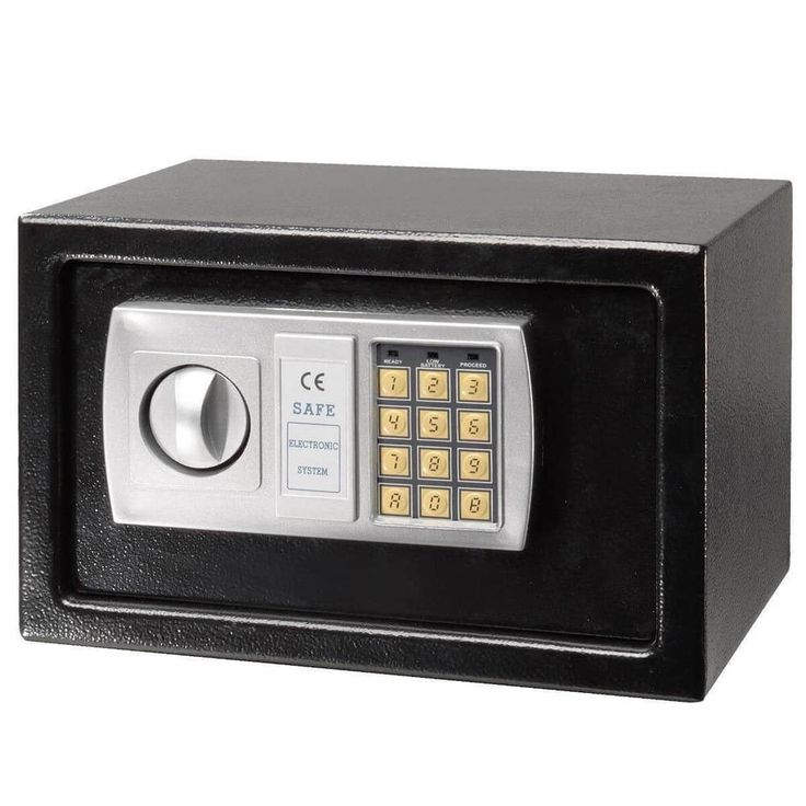 "Electronic Digital Safe Box 12.5"" Keypad Lock Home Office Cash Jewelry Safe NEW #1"