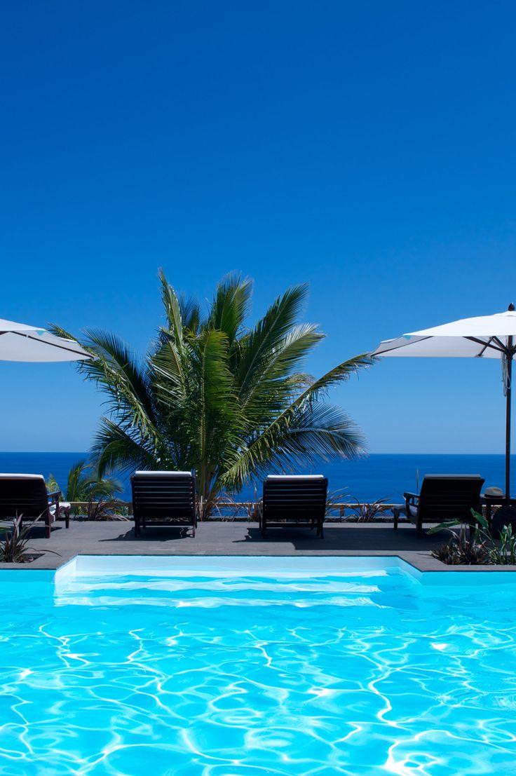 La piscine de l'hotel Blue Margouillat #IleReunion