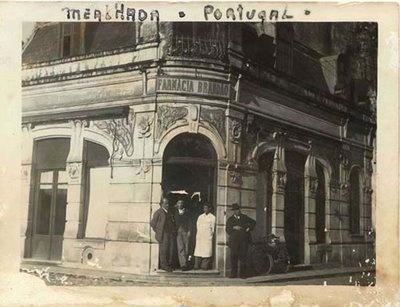 Jaime Inácio dos Santos (1874-1942). Rua Doutor Costa Simões, n.º 1, Mealhada, Portugal | Photo @ Thoughts on Mealhada. http://thoughtsonmealhada.blogspot.pt/2008/04/francisco-simes-ferreira-brando-homen.html