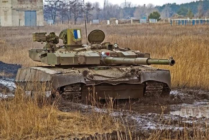 T-84BM Opłot - Ukrainian mbt