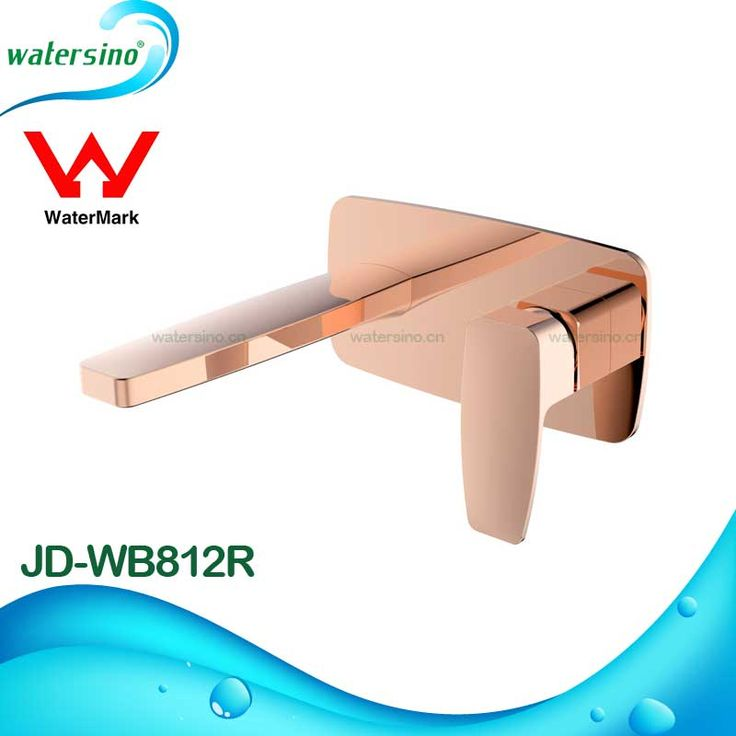 Wall Mounted Faucet Bathroom Basin Mixer Tap with Watermark