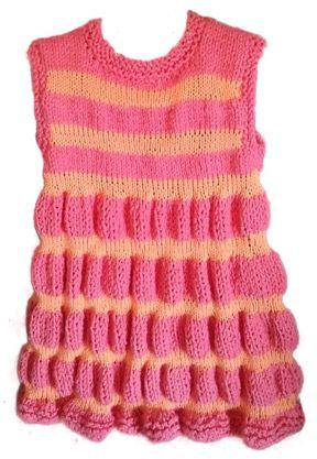 Knitting Pattern Ukhka 69 : FREE PATTERN from Crystal Palace Yarns! Kathleen Dress in Cotton Twirl and Pa...