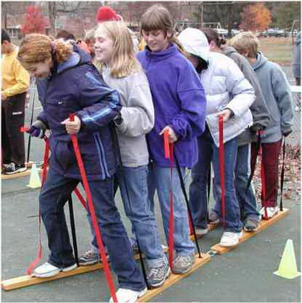 Great Simple Team Building Games for older kids and a couple the little ones could do...