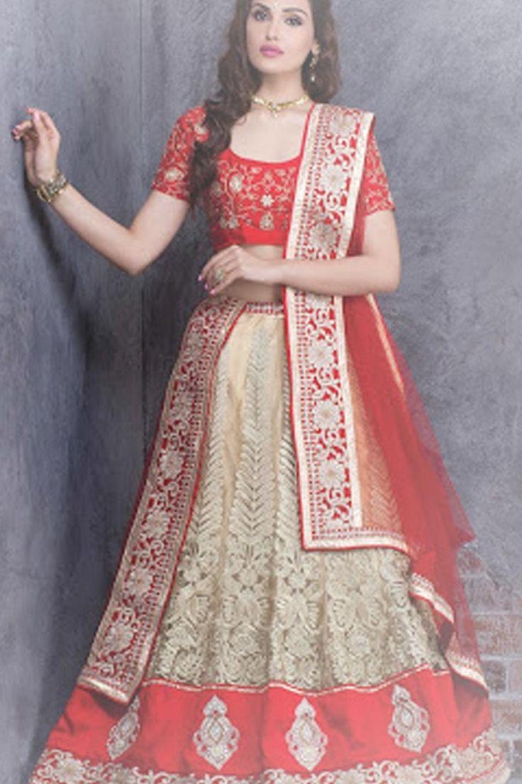 Mejores 77 imágenes de Wedding Lehenga Choli en Pinterest | Saris de ...