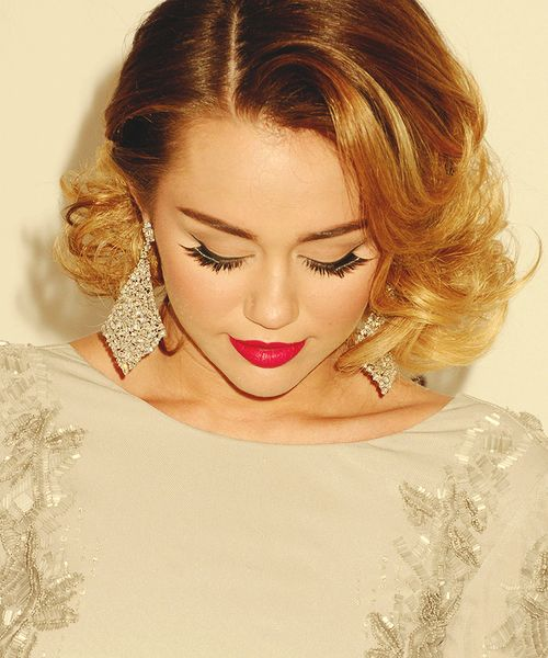 @PROM Makeup Inspiration, Thanks #Miley Cyrus #prommakeup