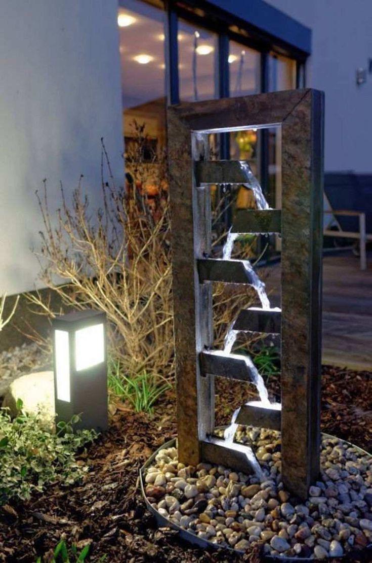Construire une fontaine extérieure pour apporter de l'harmonie au jardin