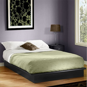 South Shore Soho King Platform Bed With Molding Chocolate