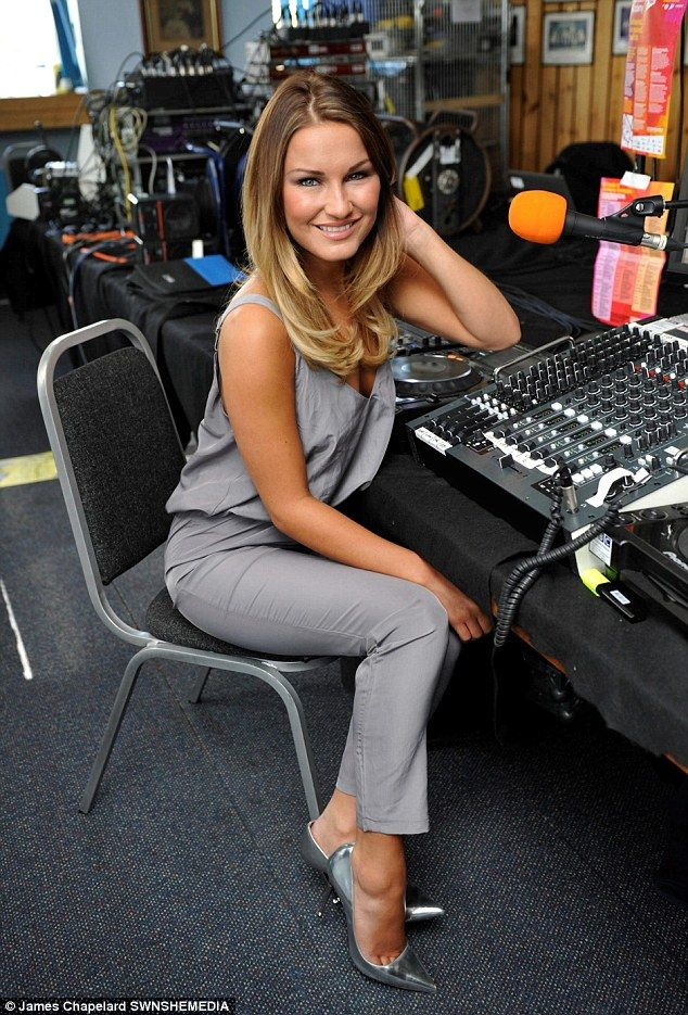 Sam Faiers.. PEACE + LOVE Daria Loose Fit Jumpsuit from Missguided + Tom Ford heels..