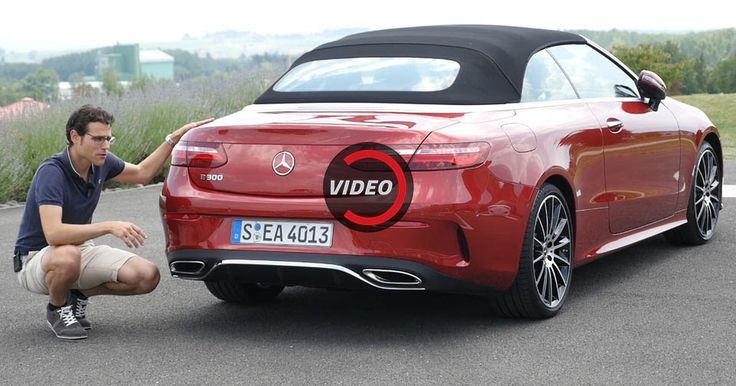 An In Depth Review Of The New Mercedes-Benz E-Class Cabrio #Mercedes #Mercedes_E_Class